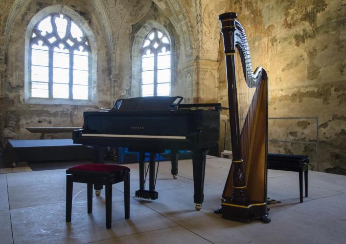 Piano - Harpe